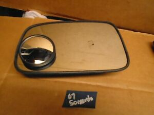Power Mirror For 2003-2009 Kia Sorento Left Heated Paintable Manual Folding