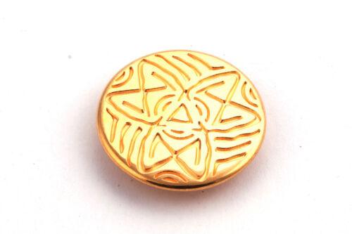 ID 10x2mm Or Bijoux élément Cuir Bandes Coulissantes perle étoile Ethno Style