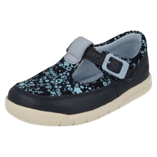 Tale First Girls Navy Clarks Shoes Crazy wqqIOA