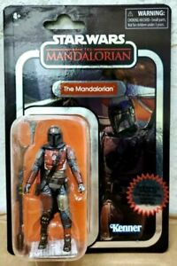 "2020 Star Wars The Mandalorian 3.75"" Cara Dune Vintage Collection Carbonized NM"