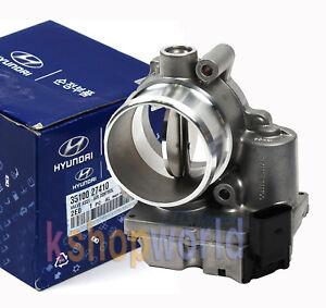 Hyundai Sonata Throttle Body Cleaning