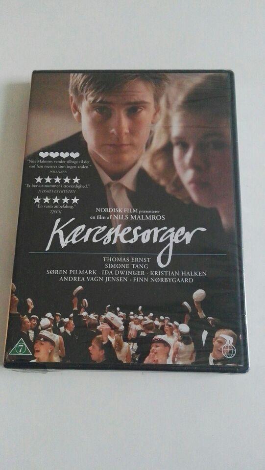 (uåbnet) Kærestesorger, instruktør Nils Malmros, DVD