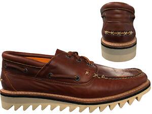 à 3 bateau de pont A1jel Chaussures Cuir Homme Selbyville brun D28 Timberland yeux en qxXFp4nnBw