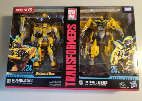 TRANSFORMERS ~ Bumblebee Bumble Bee ~ Bug And Camaro ~ Studio Series Autobot NEW
