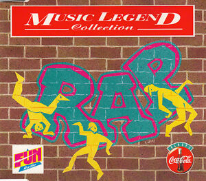 Compilation-CD-Coca-Cola-Music-Legend-Collection-Rap-Promo-France