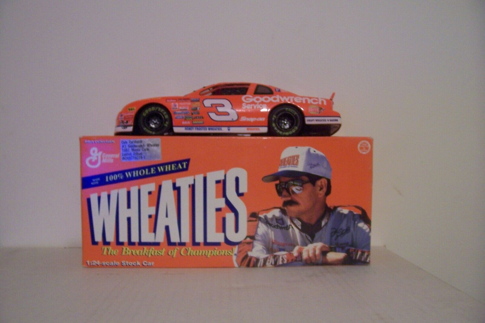 1997 Dale EARNHARDT nº 3 1 24 Wheaties voiture Limited Edition