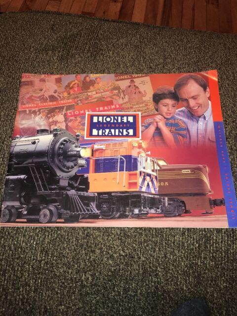 Details about  /Orig 1999 Lionel Legendary Model Trains /& Accessories Catalog Preview w//Prices