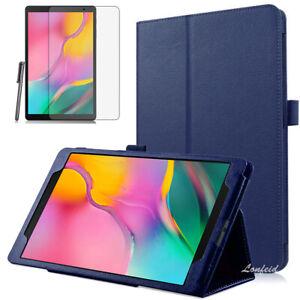 Samsung-Galaxy-Tab-A-10-1-T510-T515-2019-Case-Etui-Pen-Folie-Dunkelblau-2