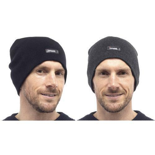 Knitted Thinsulate Warm Winter Wooly Outdoor,Skiing,Camping Mens  Beanie Hat
