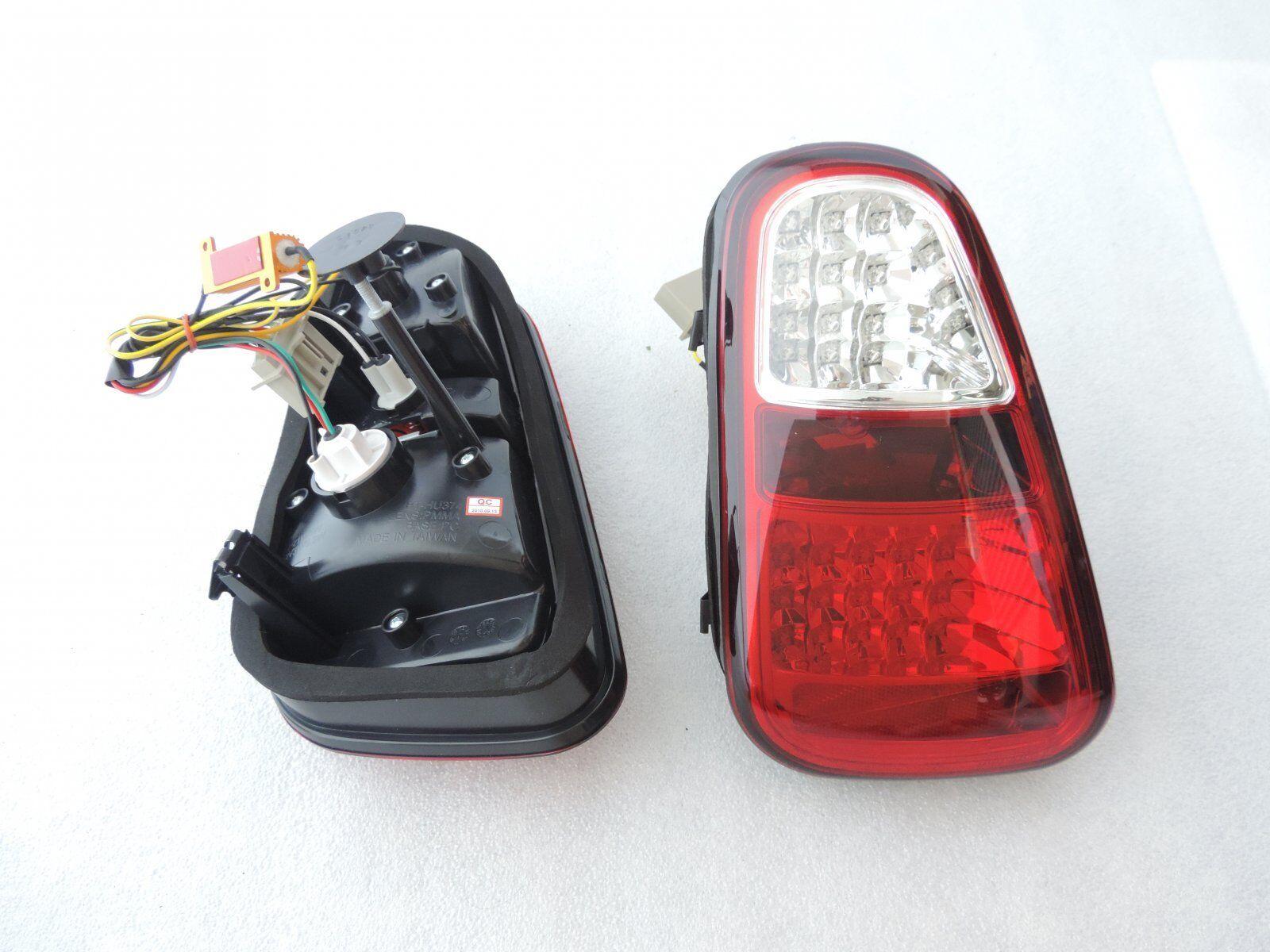 01 04 MINI COOPER R50 R52 R53 JCW RED CLEAR JDM LED TAIL