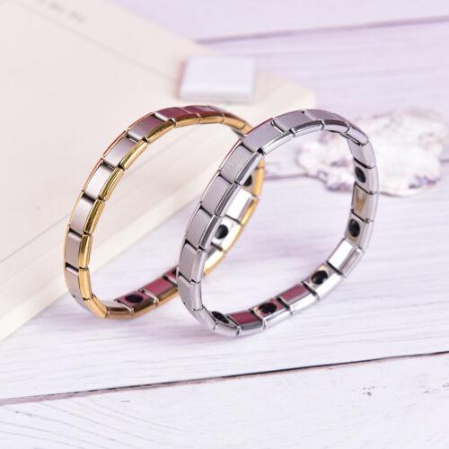 Germanium Titane Acier élastique Bracelet stretch banglehealth Puissance énergétique Hu