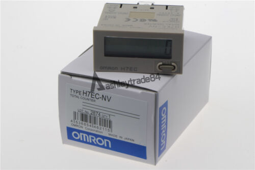 OMRON Digital Total Counter H7EC-NV H7ECNV 8 Digits LCD Display New in box
