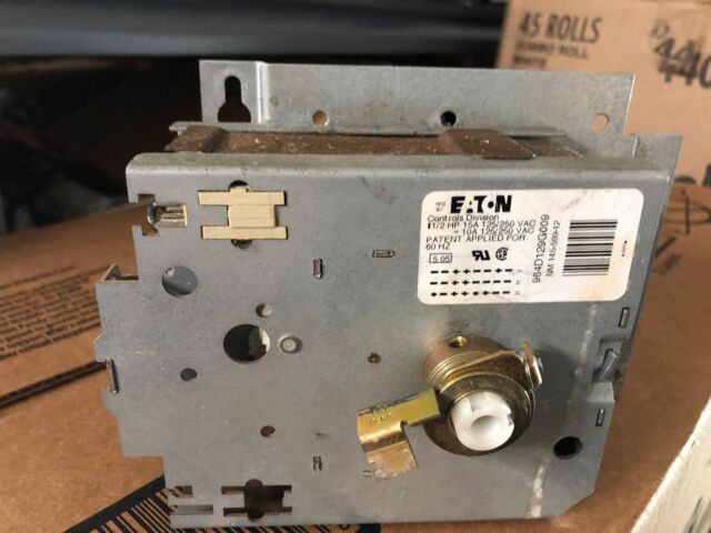 WH12X10300 GE Timer Asm Washer Genuine OEM WH12X10300