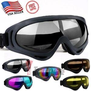 Adults-Winter-Snow-Sports-Goggles-Ski-Snowmobile-Snowboard-Skate-Glasses-Eyewear