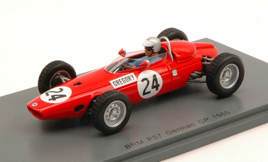 Brm P57 M. Gregory 1965  24 8th German Gp 1 43 Model S4793 SPARK MODEL