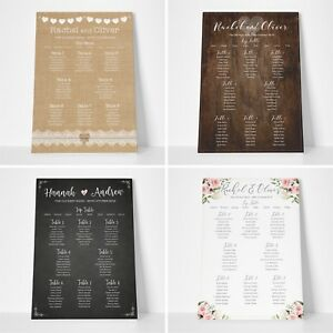 Personnalise-Mariage-assise-plan-Planner-Table-Plans