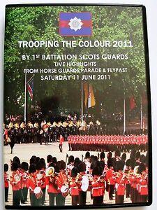 TROOPING-THE-COLOUR-2011-LIVE-DVD-1ST-BATTALION-SCOTS-GUARDS-REGION-2-PAL