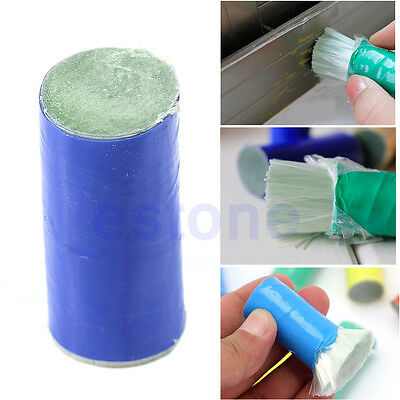 Portable 2Pcs Cleaning Stick Metal Rust Remove Clean Stick Wash Brush Style