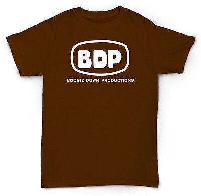 BDP Boogie Down Productions Logo Men/'s Black T-shirt Size S 3XL