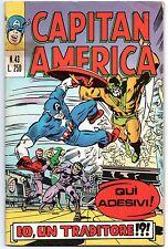 CAPITAN AMERICA corno N.43 IO, UN TRADITORE !?! x-men grotesk origini ciclope