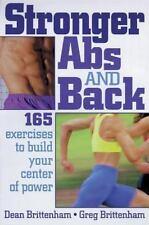 Stronger Abs and Back, Greg Brittenham, Dean Brittenham, 0880115580, Book, Accep