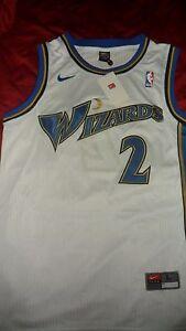 best service aa0a7 e363c Details about GOD SHAMMGOD WELLS NIKE! Washington Wizards Basketball HOME  Jersey L NWT!! NICE!