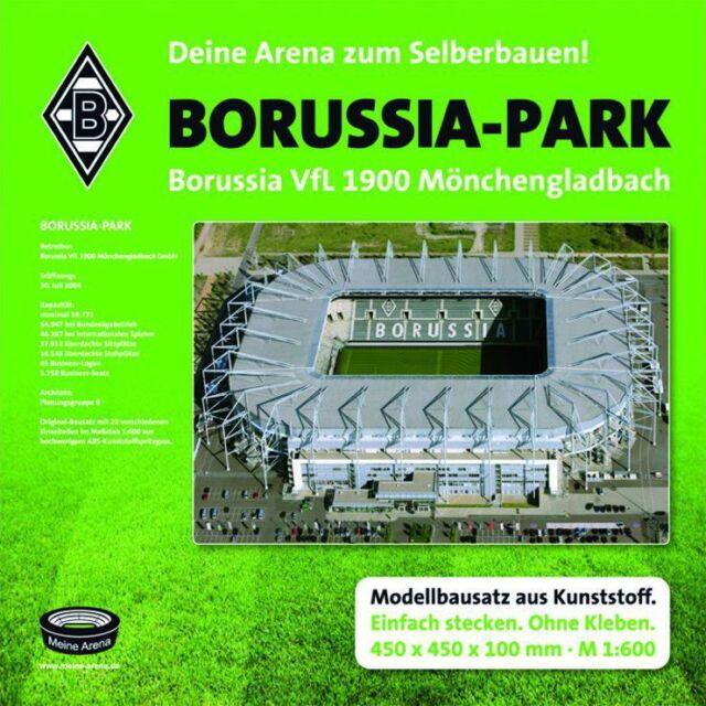 Borussia Mönchengladbach Stadion Borussia-Park Bausatzzum Selberbauen Fanartikel
