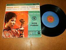 TITO FUGGI  - EP FRENCH PHILIPS 424191 - LATIN  POPCORN