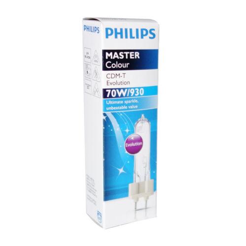 Philips Master Colour CDM-T EVOLUTION HCI-T 70 Watt WDL G12 930 für HQI HCI HIT