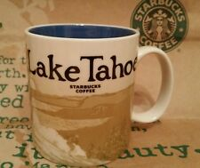 Starbucks Coffee Mug/Tasse/Becher LAKE TAHOE, Global Icon Serie, NEU m.Sticker!!