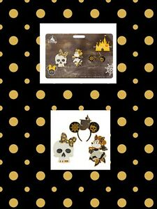 Disney-Pirates-Of-The-Caribbean-Minnie-Mouse-Main-Attraction-3-Pin-Set-LR-New