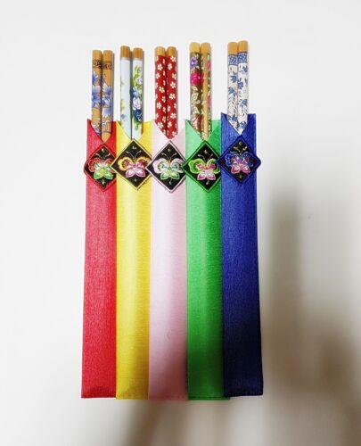 Korea flower Chopsticks Food Set 5set