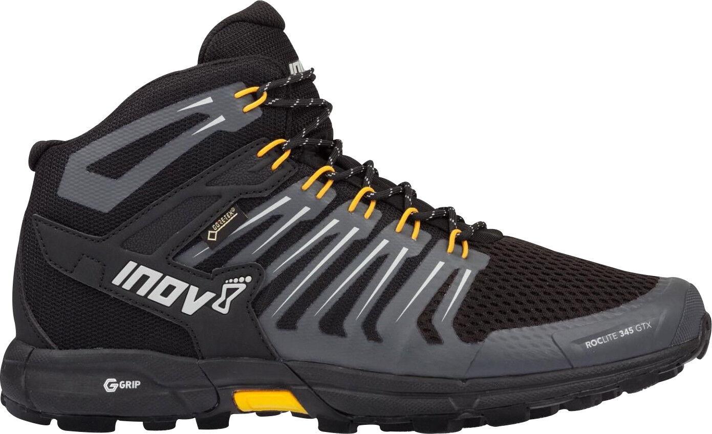Inov8 Roclite 345 GTX Mens Walking botas - negro