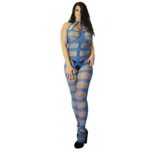 UK6-24 Fishnet Quality Design Lingerie Body Stocking Naughty Catsuit Plus Lot