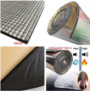 "1*0.5m 19.6""*39.4"" Sound Deadener Heat Self-Adhesive Car Sound Aluminum sheet"