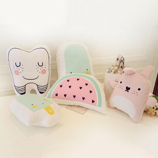 Pop Catoon Pillow Kids Cute Cushion Cotton Baby Room Decor Child Bed Doll  POP!