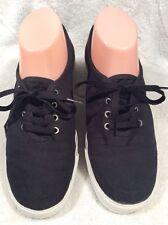 "Sketchers Women's "" Goga Mat "" Black Yoga Shoes  Sz 8"