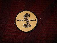 1967 1968 Shelby Gt350 Gt500 Gt500kr Shelby Cobra Autosport Patch Yellow Gol