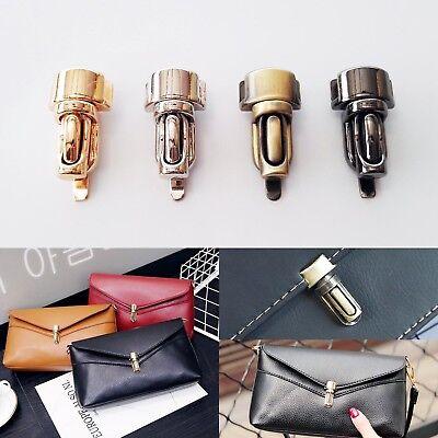 Metal Column Tuck Lock Closure Catch Clasp for Leather Bag Case Handbag Purse