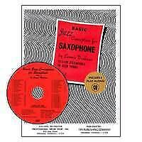 1  Saxophone Lennie Niehaus Book with C Basic Jazz Conception For Saxophone Vol
