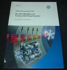 SSP 266 VW Transporter T5 Bus 2,8 l T 5 TDI Motor Common Rail Einspritzsystem!