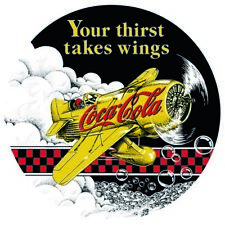YOUR THIRST TAKES WINGS COCA-COLA MAGNET