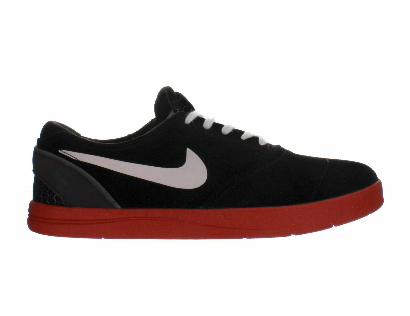 Mens Nike Eric Koston 2 Black White Rust Factor White 580418-016