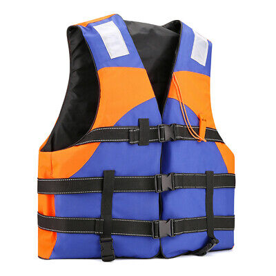 Life Jacket Swimming Boating Surfing Sailing Windsurfing Fishing Adult Red