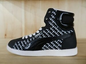 d0362319170 PUMA FIRST ROUND ANCHOR BLACK WHITE CONDITIONAL WOMENS WMNS SIZE 5.5 ...