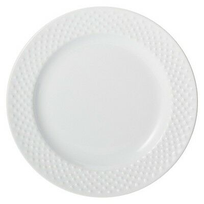 Threshold All Over Bead Salad Plate Set of 4 - White
