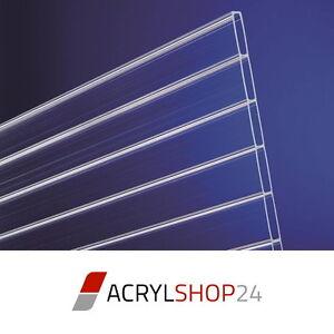 Acrylglas Doppelstegplatten Stegplatten 16mm 64mm Kammerbreite No
