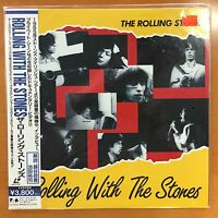 The Rolling Stones - Rolling With The Stones - LaserDisc - Japan - OBI Like New