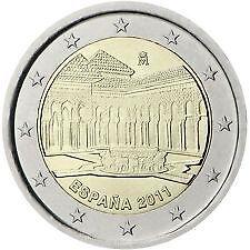 "SPANJE 2011 2 EURO ""FORT ALHAMBRA"" - UNC"