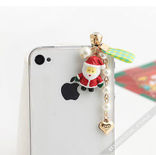 Smartphone Schmuck Stecker StaubSchutz Handy Schmuck Weihnachten Iphone Galaxy